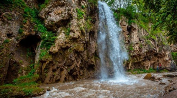 Кисловодск. Медовые водопады.