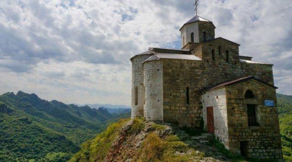 Храм Георгия Победоносца на горе Шоана
