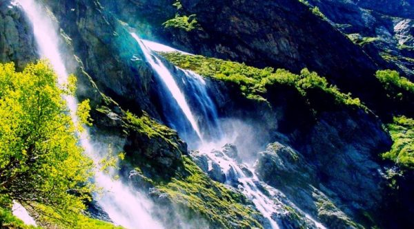 Софийские водопады. Архыз.