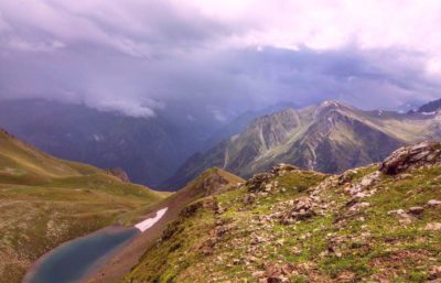 Озеро Улу-Кель в горах