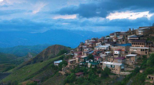 Аул Чох - панорама
