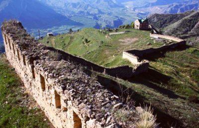 Гуниб - старая крепость