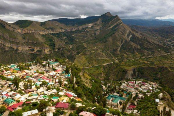 Панорама аула Гуниб