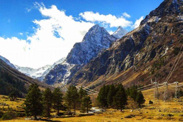 Величественные пики Кавказа