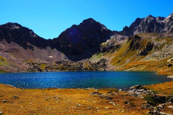 Улу-Кель. Высокогорное озеро.