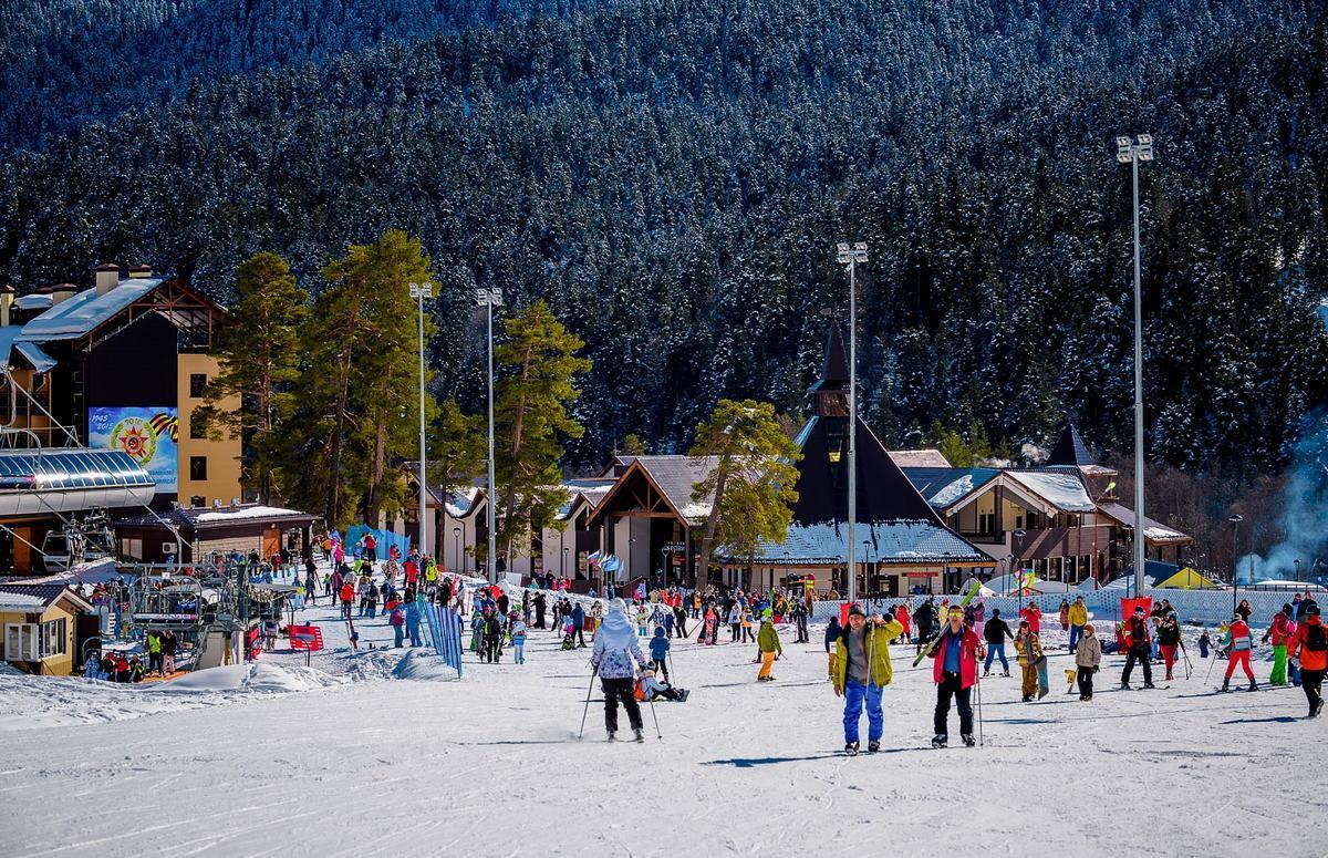 Зимний отдых в горах Кавказа
