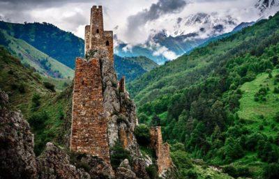 Ингушские родовые башни Вовнушки